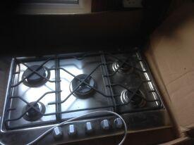 Baumatic 5 burner hob (new in box)