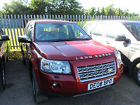 Land Rover Freelander 2 2.2 TD4 SE Auto Rimini Red 106k.
