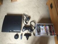 320gb Sony PlayStation 3 with games