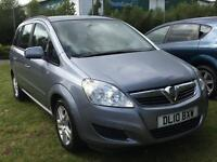Vauxhall Zafira 1.8 2010 + SERVICE HISTORY + 12 MONTHS MOT + 2 KEEPERS FROM NEE