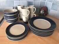 Ikea, plate/bowl/mug set