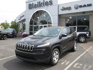2014 Jeep Cherokee Sport | 4X4 | HEATED SEATS | HEATED STEERING