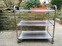 Metal Catering Trolley
