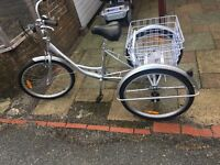 Brand New Never Used FANOTEC Tricycle