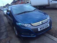 2012 Honda Insight Hybrid Automatic 1owner Long MOT & Tax PCO Licensed UBER ready or Rent for £120