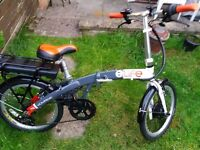 ELife Voyage Folding electric bike