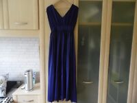 PARTY WEDDING FORMAL GREEK STYLE MAXI DRESS SIZE 12