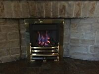 Open Flame Gas Fire