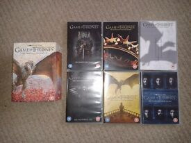 Game of Thrones - The Complete Seasons 1 - 6 - DVD Box Set