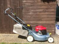 "HONDA IZY SELF PROPELLED PETROL LAWN MOWER 16"" V.GOOD CONDITION"