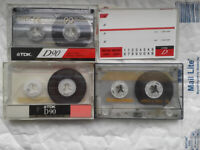 3 Tapes £1.40 Free p&p for all 3 together Paypal Blank audio cassette tape hi fi stereo music