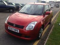 SUZUKI SWIFT 1.3 GL 3dr (orange) 2007