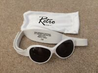 Baby sunglasses - Retro Baby Banz