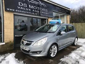 2010/60 VAUXHALL CORSA SE/LOW MILES/HIGH SPEC/OUTSTANDING CONDITION/£0 DEPOSIT & FROM £25 PER WEEK