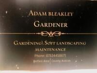 Gardener/ soft landscaping