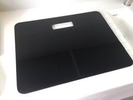 Premium Range Black Glass Chopping Board - RRP £90 - Brand New Product in Original Sealed Packaging