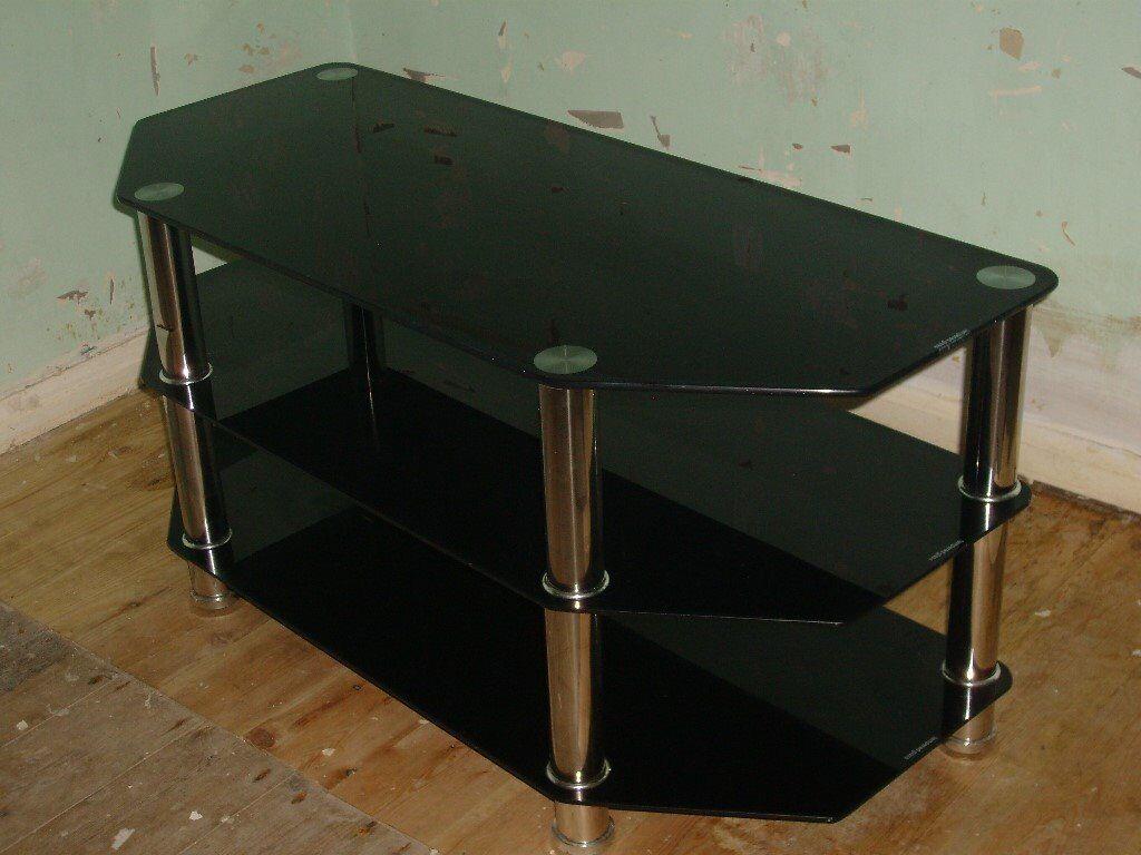 Black Glass Corner Tv Stand In Durham County Durham Gumtree