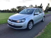 2012 Volkswagen Golf 1.6 TDI Match Edition - Full VW Service History - Extras