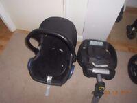 Maxi Cosi car seat and isofix base 0+ Edmonton