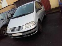 2001 Volkswagen Sharan TDI For Breaking