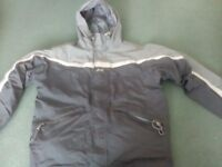Helly Hanson gray jacket size 14 years used