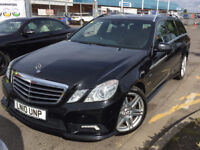 MERCEDES E250 2.1 CDI BLUEMOTION SPORT ESTATE AMG STYLING 7 SEATS