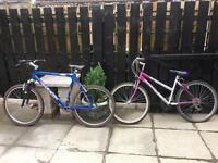His and her bikes