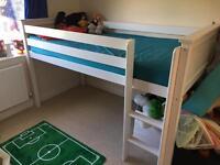 Midsleeper single bed