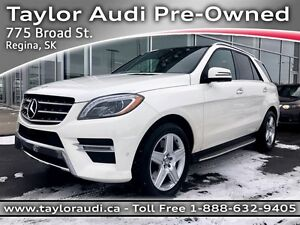 2014 Mercedes-Benz M-Class ML550 4MATIC, 1 OWNER, MASSAGING SEAT