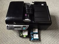 HP Officejet 4500 Wireless P/S/C/F Printer with spare Genuine Ink.