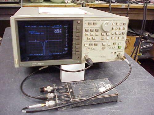 HP 8752C 300KHz-6GHz Network Analyzer options  004 006  010
