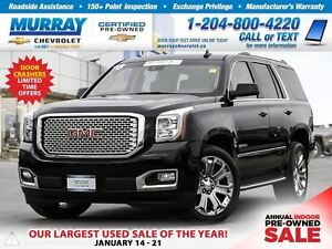 2016 GMC Yukon *Heated Seats, Remote Start, Rear View Camera*