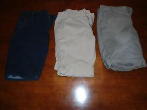 LADIES SHORTS X3-SIZE 11/12