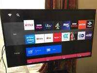 (TWO TVs!) SONY BRAVIA 43inch Smart 4K HDR TV + Sony Bravia 40inch HD TV