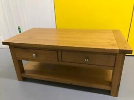 LINCOLN WOOD COFFEE TABLE