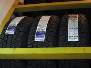 3 AND ONLY 3 BRAND NEW BFG TIRES P255/70R16