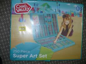 Brand new Chad Valley 250 Piece Super Art Set.