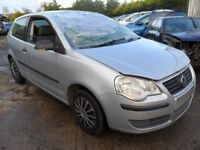 volkswagen polo parts from a 2007 polo 1.2 petrol 3 door silver