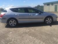 57 PEUGEOT 407sw 2.0HDI AUTOMATIC ESTATE EXCELLENT CAR NOT CITROEN FORD VAUXHALL CHEAP FAMILY CAR