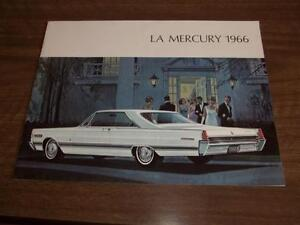 BROCHURE AUTO MERCURY ( 1966 )