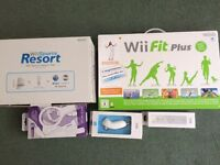 WiiFit Plus with extras