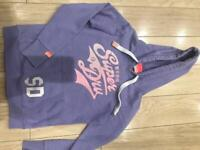 Superdry hoody immaculate condition lilac purple neon glitter