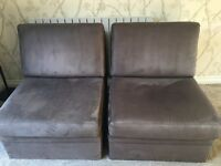 2 x John Lewis Pull out sofa beds