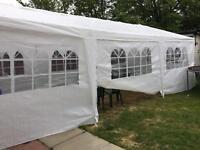 Gazebo Marquee Tent Hire 9m x 3m