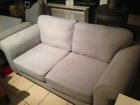 3 Seater & 2 Seater Sofa - Duck egg blue
