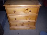 Pine chest for sale.
