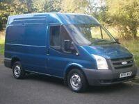 2007 FORD TRANSIT T280 110bhp SWB SEMI HIGH MET BLUE AMBITION, CHEAP WORKHORSE READY TO GO, NO VAT!!