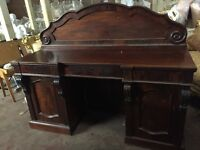 Magnificent Victorian antique chifonier sideboard circa 1970
