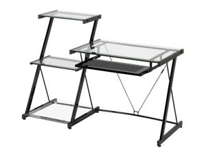 Glass desk like pictured