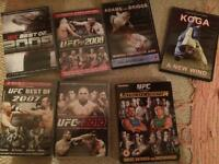 MMA and Judo DVD's